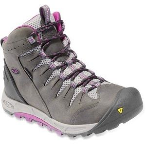 Keen Women's Canby Hiking Boots Purple Gray 8.5
